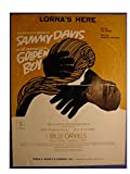 Lorna's Here - Very Nice Original 6 Page Sheet Music Score - From The Musical Featuring Sammy Davis Titled: Golden Boy - Edwin H Morris & Comp - 1964
