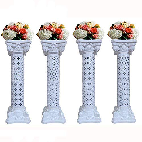 Wedding Columns Wedding Pillars Columns Stand for Weddings Party Decoration Adjustable Height Roman Pillars Wedding Decorations(40