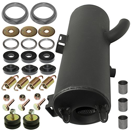 CALTRIC EXHAUST MUFFLER SILENCER and KIT Fits POLARIS SPORTSMAN 500 4X4 FOREST 2011-2013
