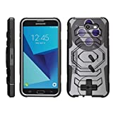 Cheap TurtleArmor | Compatible for Samsung Galaxy J7 2017 Case | J7 Prime | J7 Sky Pro [Octo Guard] Dual Layer Case Holster Belt Clip Sturdy Kickstand Cover – Classic Game Controller