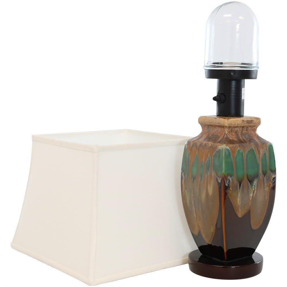 Sunnydaze Indoor Multi-Colored Ceramic Table Lamp, 23 Inch by Sunnydaze Decor (Image #3)