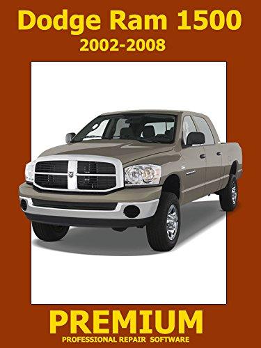 Dodge Ram 1500 Repair Software (DVD) 2002 2003 2004 2005 2006 2007 2008