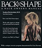 Back in Shape, Stephen H. Hochschuler, 0395562732