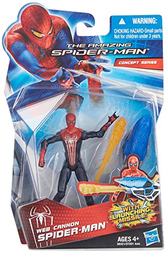 The Amazing Spider-Man Web Cannon Spider-Man 3.75 inch Actio