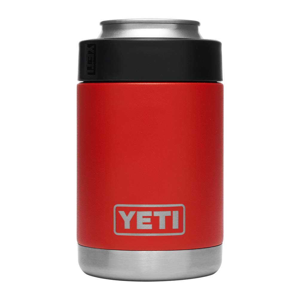 YETI Rambler Vacuum Insulated Stainless Steel Colster, Canyon Red