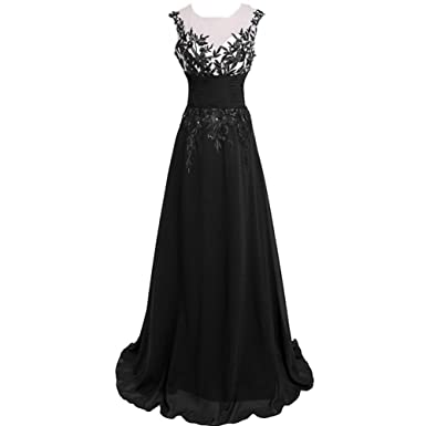 Junes Young 2015 Womens Long Formal Evening Dresses Lace Blink