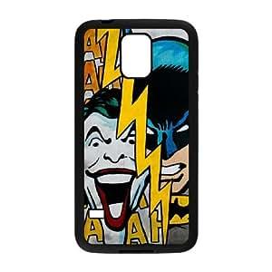 Batman Joker Samsung Galaxy S5 Cell Phone Case Black TPU Phone Case SV_257084