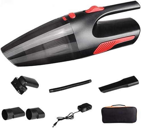 SPMDH Vacuum Cleaner Coche, succión portátil de Mano Hoover Coches, Wet Dry Auto Vacuum Cleaner, Ligero aspiradora Recargable, para el Coche, Área de Mascotas, Hogar: Amazon.es: Hogar