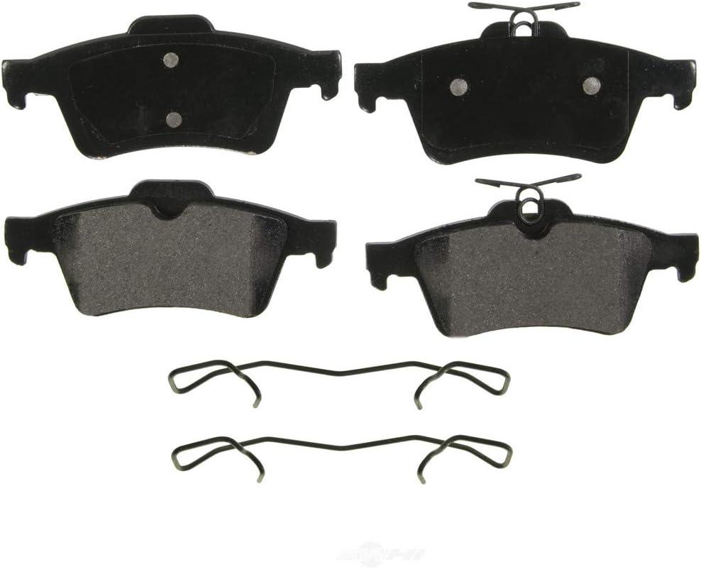 Front /& Rear Ceramic Pads for 2005 2006 2007 2008 Jaguar X-Type