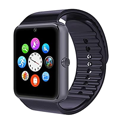Smart Watch Bluetooth Sweat Proof Wrist Watch with Touch Screen for Notification Push /Handsfree Call for Android / limited function
