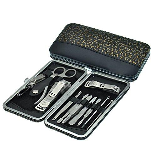 Bemaystar 12 PCS Уход за ногтями Личная Маникюр Педикюр дорожный набор и уход Kit Набор инструментов