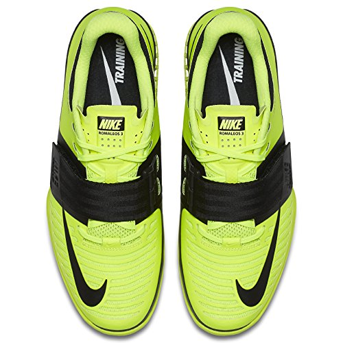 Nike Romaleos 3 Herre Vægtløftning Sko Volt / Sort vMy1TDSQ