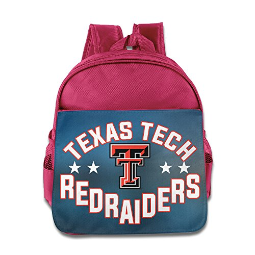 Texas Tech Red Raiders Lady Raiders TTU Teams Kids School Pink Backpack Bag