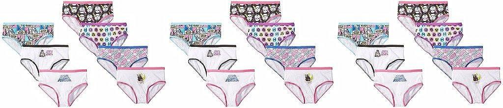 Star Wars Big Girls 7pk Hipster Panty