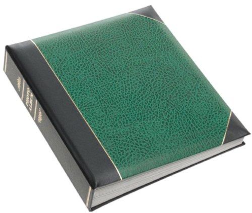 Hunter Green Pioneer Ledger 5 X 7 Bi-Directional Le Memo Album