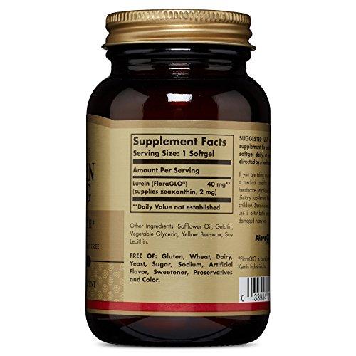 Solgar Lutein 40 mg, 30 Softgels by Solgar (Image #5)