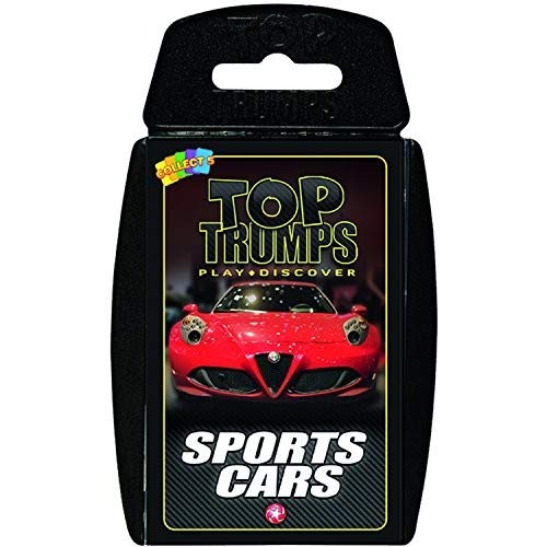 (Sports Cars Top Trumps Card Game )
