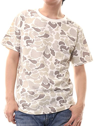 想定スペイン語ありふれたティーシャツドットエスティー Tシャツ 半袖 カモフラ 迷彩 5.3oz メンズ