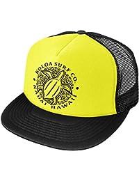 Koloa Surf Hawaiian Turtle Honu Poly-Foam Mesh Snapback High Profile Trucker Hat
