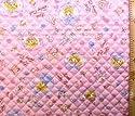 <Qキャラクター・キルティング生地>リトルフェアリーテイル (ピンク)の商品画像