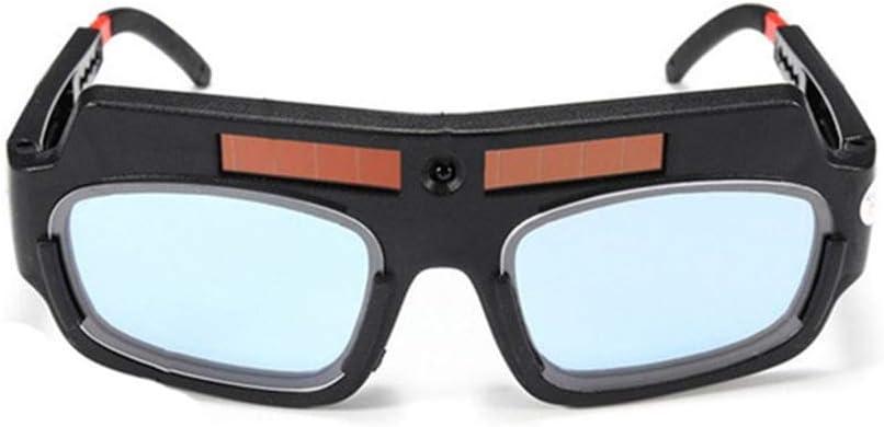 Soldadura de oscurecimiento autom/ático solar Gafas TIG MIG Gafas de soldador Gafas de soldador