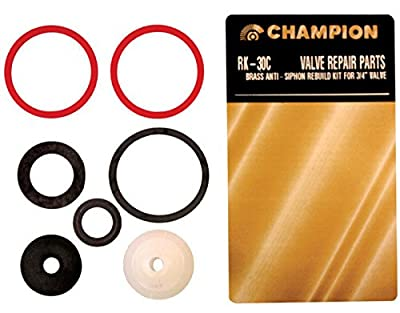 "Champion Valve Rebuild Kit 3/4"" Anti-Siphon Valve"