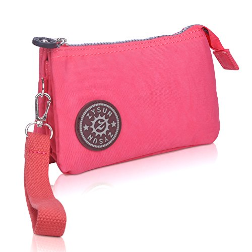 ZYSUN Womens Nylon Small Little Clutch Card Money Handbag Purse (Little Lady Purse)