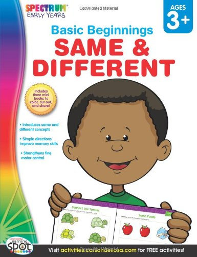 Same & Different, Grades Preschool - K (Basic Beginnings)