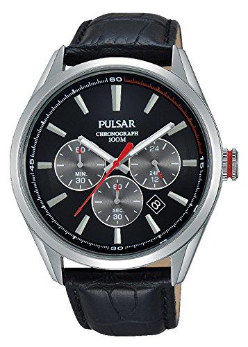 Armbanduhr Herren Leder Analog Pt3729x1 Quarz Pulsar uKlF3JT1c