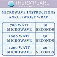 Tobillera con correa Therapearl/Terapia de frío y calor/Pack con ...