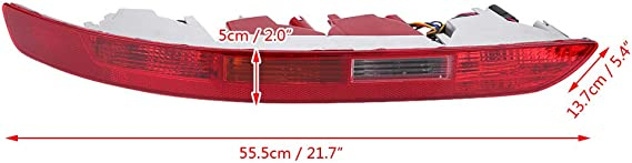 Audi A4/B9/arri/ère ns gauche inf/érieur Bumper R/éflecteur NEUF