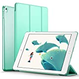 ESR Yippee Trifold Smart Case for iPad Pro 9.7, Translucent Frosted Back Magnetic Cover with Auto Sleep/Wake Function [Light Weight] Compatible with iPad pro 9.7 inch 2016 Release (Mint Green)