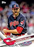 2017 Topps Opening Day #52 Andrew Miller Cleveland Indians Baseball Card