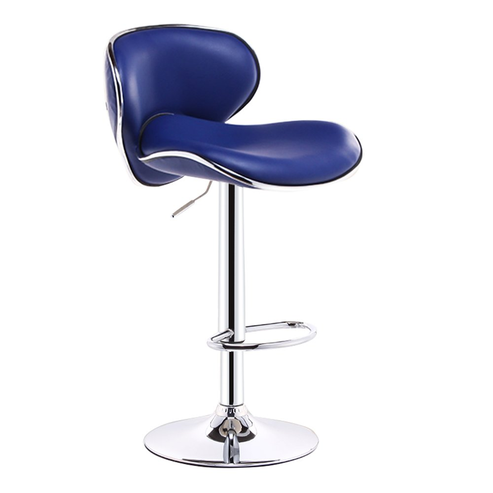 1  38.5cm Yan Fei Bar Chair, Fashion Hair Salon Chair, Cashier Swivel Chair, Lounge Chair, high Chair, Continental Breakfast Chair (11 colors, 2 Sizes) Comfortable Stools (color   7 , Size   41cm)