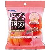 オリヒロ ぷるんと蒟蒻ゼリー ピーチ 20g×6個