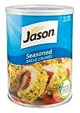 Jason, Seasoned Bread Crumbs, 15oz (Pack of 12)