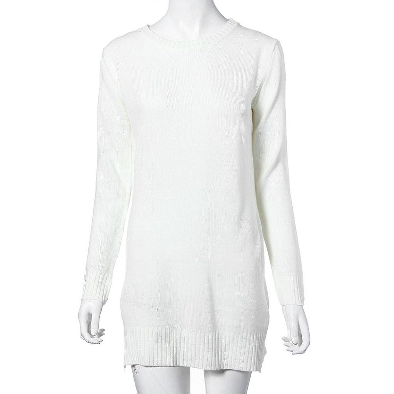 Coper@ Fashion Women's Long Knitted Jumper Sweater