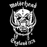 motorhead white - England 1978 - Gorgeous Silk-Screened Jacket With Silk-Screened Poster And Opaque White Vinyl