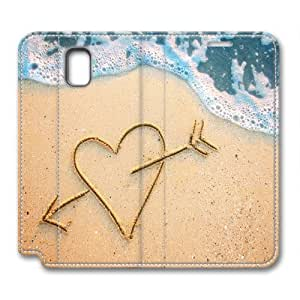 LGTOO Samsung Galaxy Note 3 Case,The sea of love as Custom Samsung Galaxy Note 3 High-grade leather Cases