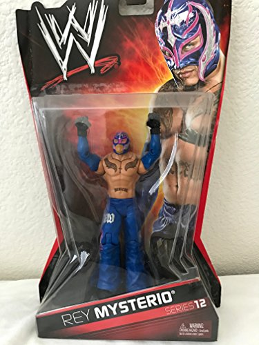 WWE Rey Mysterio series 12 action figure lucha libre by lucha libe mask