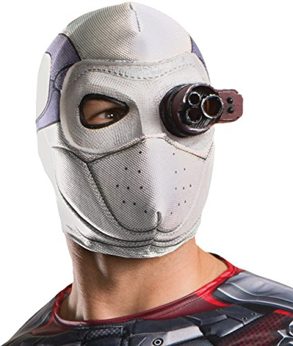 Rubie's Costume Co Men's Suicide Squad Deadshot Mask, Fabric, One -
