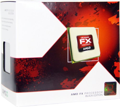 AMD FX-4170 4.2GHz Quad-Core Socket AM3+ CPU with AMD Virtualization Technology - FD4170FRGUBOX