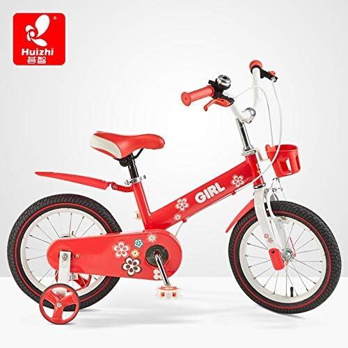 YUMEIGE Bicicletas Bicicletas 12 14 16 Pulgadas, Bicicleta Infantil Fácil de Montar y Desmontar, Bicicleta para niña 2-8 años Regalo para niños Negro, Rojo, Amarillo Disponible: Amazon.es: Jardín