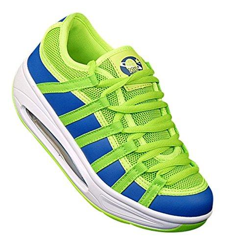 Slipper 326 Neon Art Fitnessschuhe Schuhe Sport Sneaker Gesundheitsschuhe Damen qtxHF