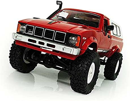 WPL C24 1:16 Scale 4wd 2.4g Electric RC Crawler Army Car Military Truck