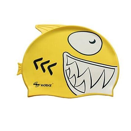 amazon com kangkang children s cartoon fish swim cap boy girl