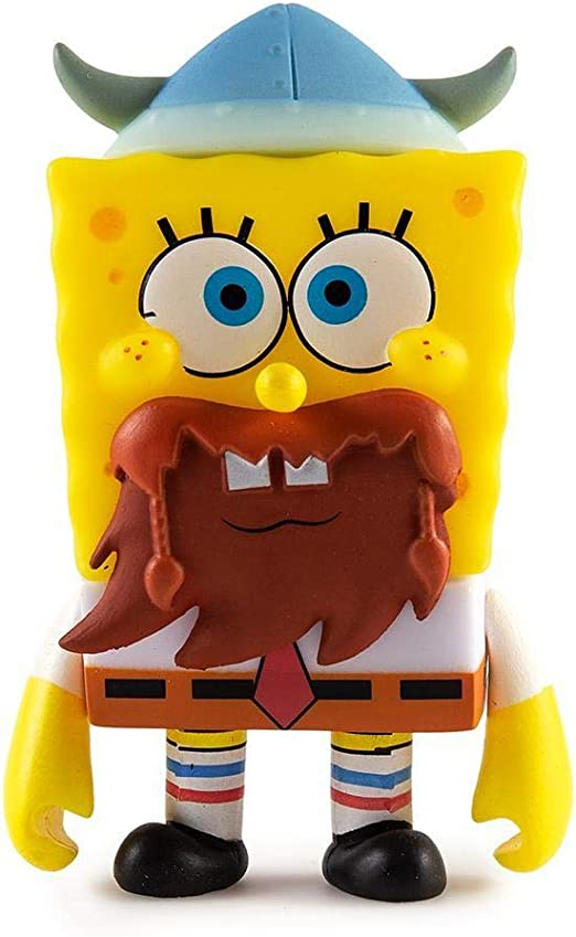 Spongebob Squarepants Mini Vinyl Figure by Kidrobot Dear Vikings