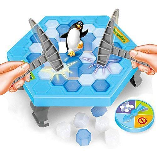 Bingtu Crashed ice Game Puzzle Table Games Penguin