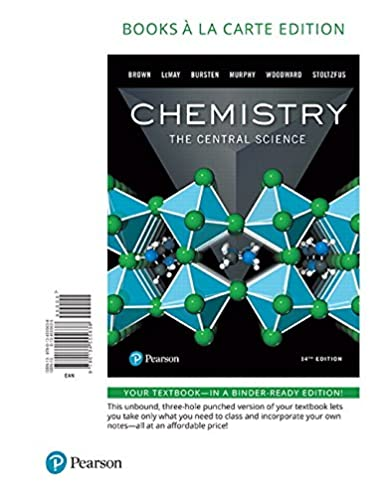 chemistry the central science books a la carte edition 14th rh amazon com Chemistry Study Guide Chemistry 101 Lab Manual