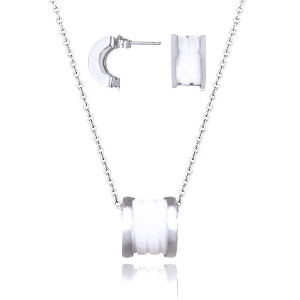Kelvin Gems Women's Fleur Gift Set White